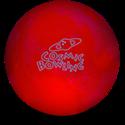 COSMIC BOWLING UV Házi golyó 12 lb Red képe