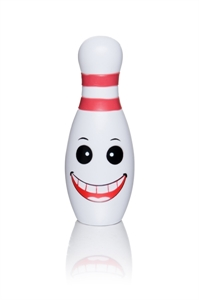 Persely, bowling bábu, műanyag képe