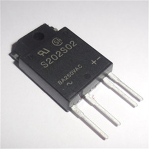 SHARP S202S02 250VAC8A szilárd test relé SKYBOX gépvezérléshez képe