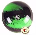 Tekegolyó Winner 160mm fekete/neon zöld képe