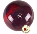 Tekegolyó WINNER 160mm piros/fekete/kék képe