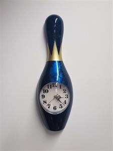 Bábu falióra 60 cm-es kék képe